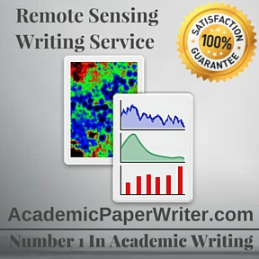 Remote Sensing Writing Service