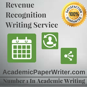 Revenue Recognition Writing Service
