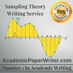 Sampling Theory Writing Service