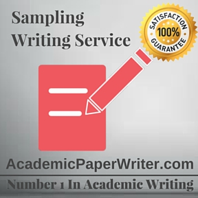 Sampling Writing Service