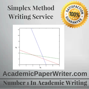 Simplex Method Writing Service