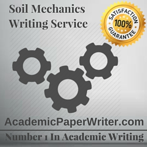 Soil Mechanics Writing Service