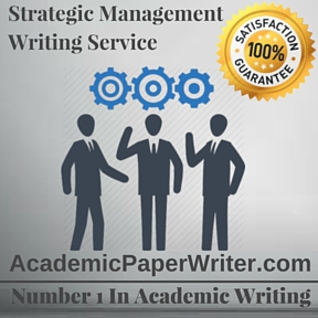 Strategic Management Writing Service
