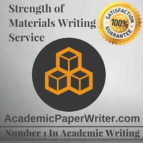 Strength of Materials Writing Service