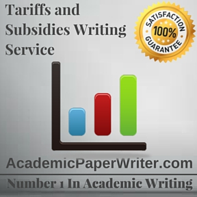 Tariffs and Subsidies Writing Service