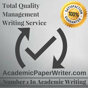Total Quality Management Writing Service