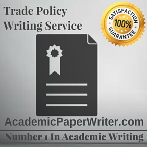 Trade Policy Writing Service