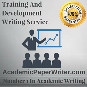 Training and Development Writing Service