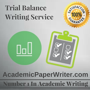 Trial Balance Writing Service