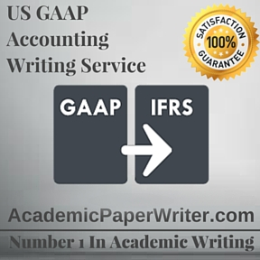 US GAAP Accounting Writing Service