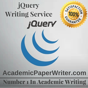jQuery Writing Service