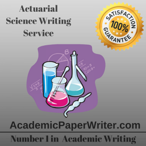 Actuarial Science Writing Service