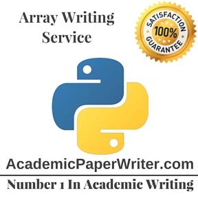 Array Writing Service