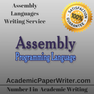Assembly Languages Writing Service