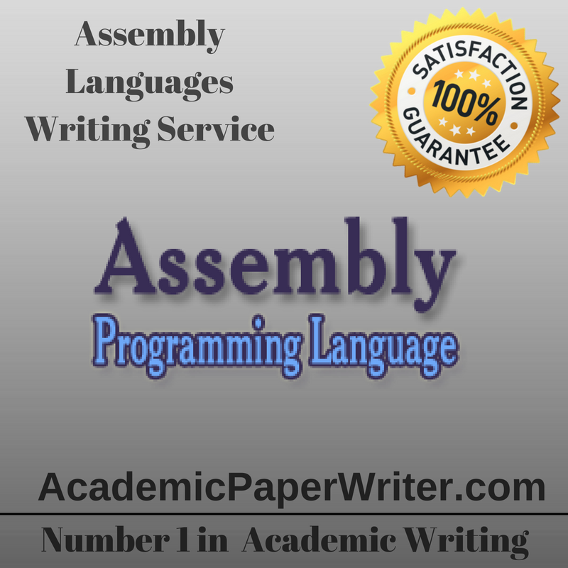 Assembly Languages Writing Assignment Help, Assembly
