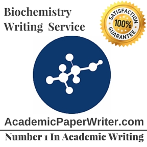 Biochemistry Writing Service