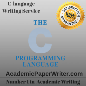 C language Writing Service