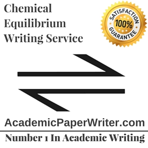 Chemical Equilibrium Writing Service