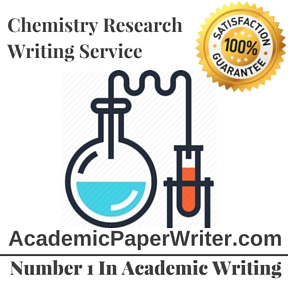 Chemistry Research Writing Service