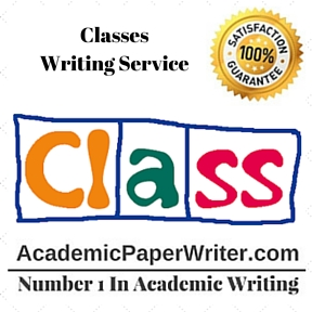 Classes Writing Service