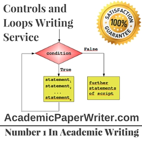 Controls and Loops Writing Service