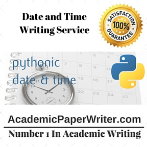 Date and Time Writing Service