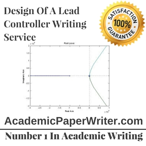 Design Of A Lead Controller Writing Service