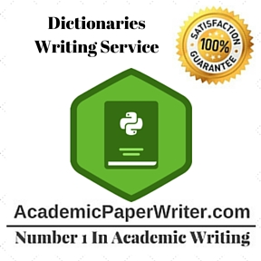 Dictionaries Writing Service