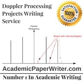 Doppler Processing Projects Writing Service