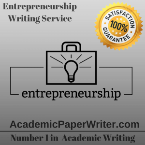 Entrepreneurship Writing Service