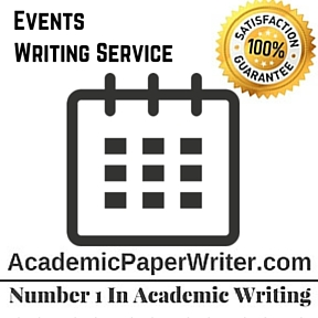 Events Writing Service