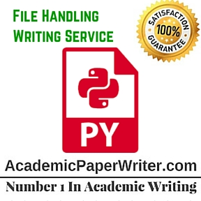File Handling Writing Service