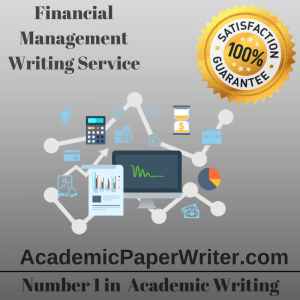 Financial Management Writing Service