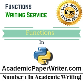 Functions Writing Service