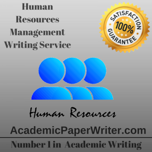 Human Resources Management Writing Service