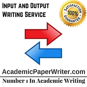 Input and Output Writing Service