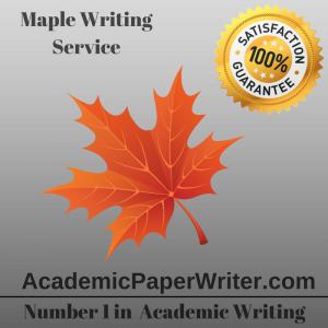 Maple Writing Service