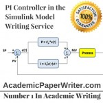 PI Controller in the Simulink Model