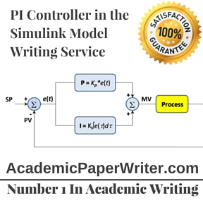 PI Controller in the Simulink Model Writing Service