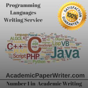 Programming Languages Writing Service