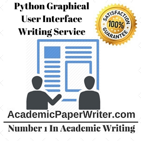 Python Graphical User Interface Writing Service