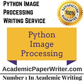 Python Image Processing Writing Service