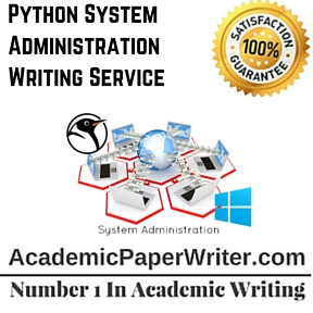 Python System Administration Writing Service