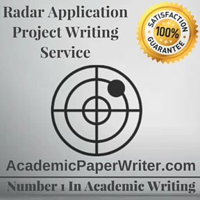 Radar Application Project Writing Service