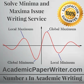 Solve Minima and Maxima Issue Writing Service