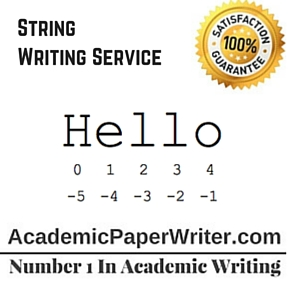 String Writing Service