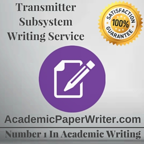 Transmitter Subsystem Writing Service
