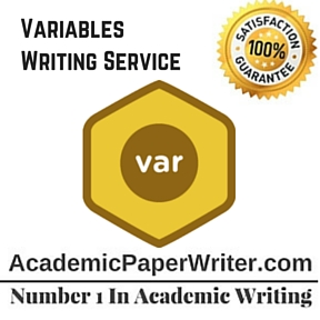 Variables Writing Service