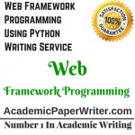 Web Framework Programming Using Python