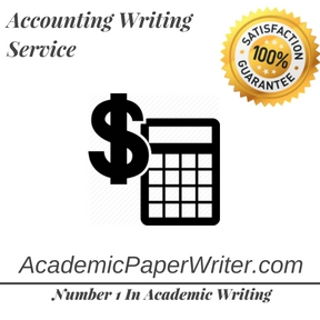 Accounting Writing Service